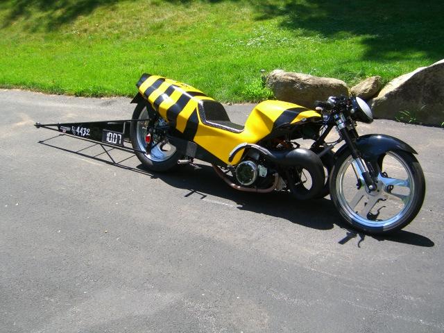 FS 2 stroke drag bike