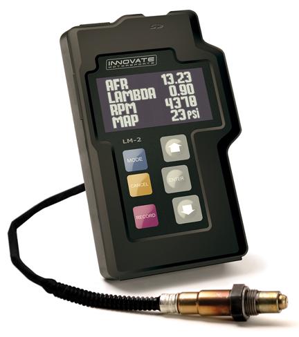 Innovate LM-2 Wideband air/fuel ratio gauge. air fuel ratio Gauges ...