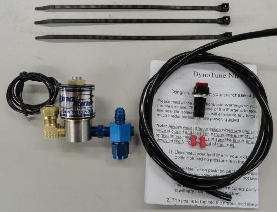 Nitrous Purge systems that purge Nitrous from the Line, reducing ET