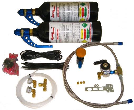 Universal kit for EFI Motorcycles-Twin Bottles